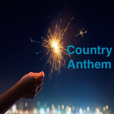 toplining instrumental track cover art of Country Anthem