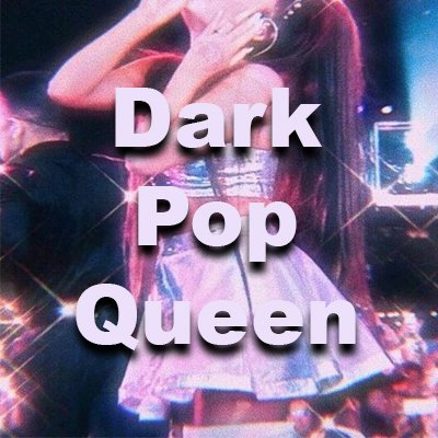 toplining instrumental track cover art of Dark Pop Queen