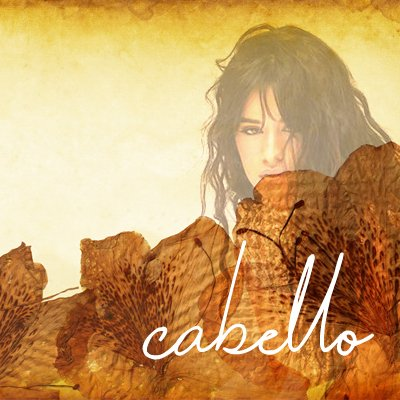 toplining instrumental track cover art of Cabello