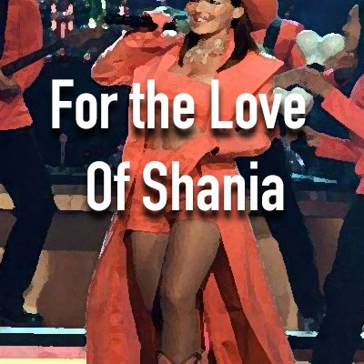 toplining instrumental track cover art of For The Love of Shania
